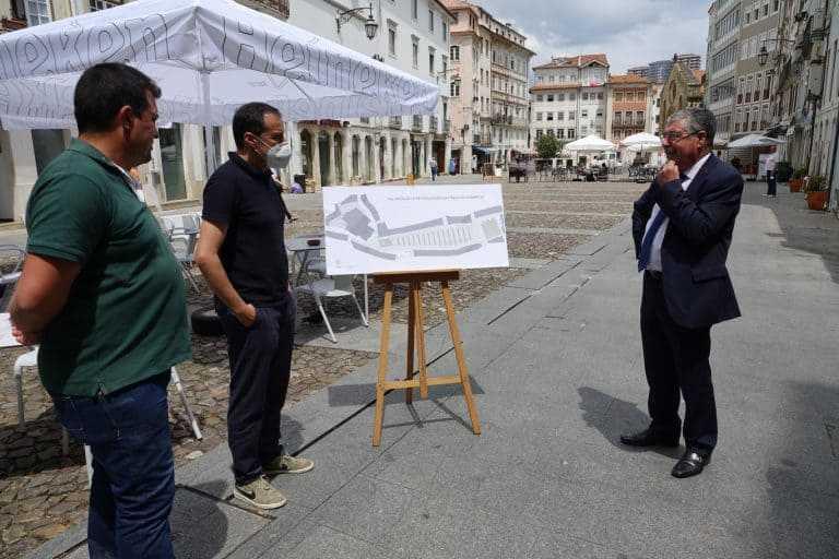 Jornal Campeão: Coimbra: Praça do Comércio requalificada para ter mais árvores e esplanadas