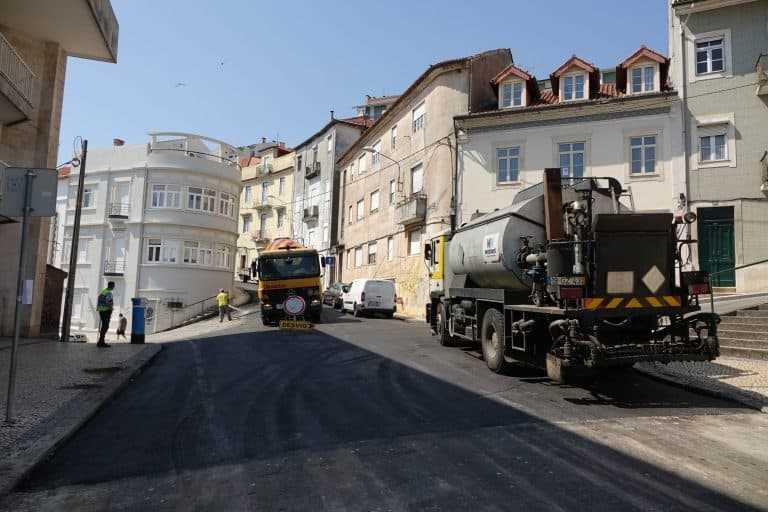 Jornal Campeão: Câmara de Coimbra repavimenta ruas na Conchada e Montes Claros