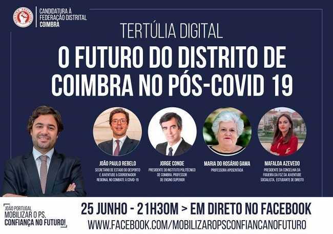 Jornal Campeão: Federação de Coimbra do PS: Candidato João Portugal promove debate