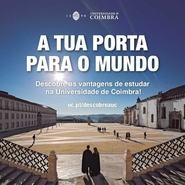 """Jornal Campeão: UC quer ser a """"Porta para o Mundo"""" dos novos estudantes"""