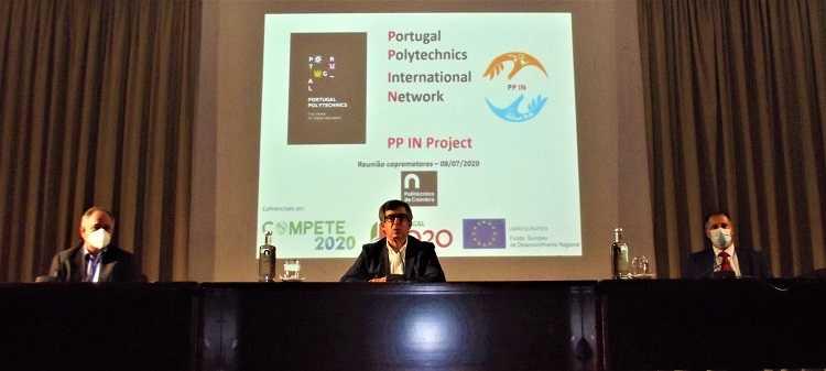 Jornal Campeão: IPC em projecto de internacionalização de politécnicos para captar alunos