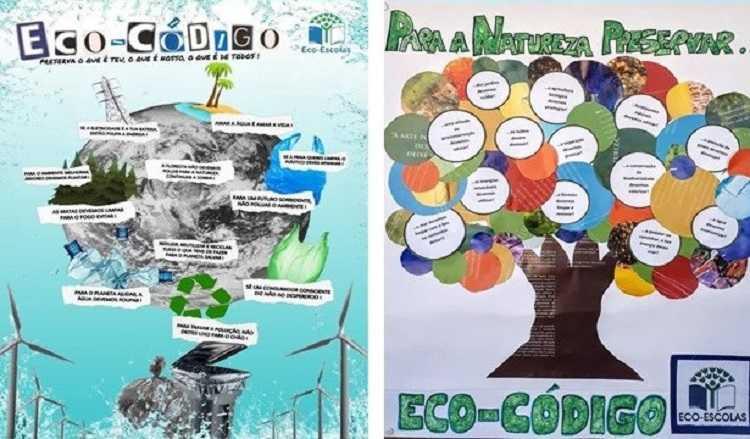 """Jornal Campeão: Escolas de Anadia participam no concurso """"Poster Eco-Código"""""""