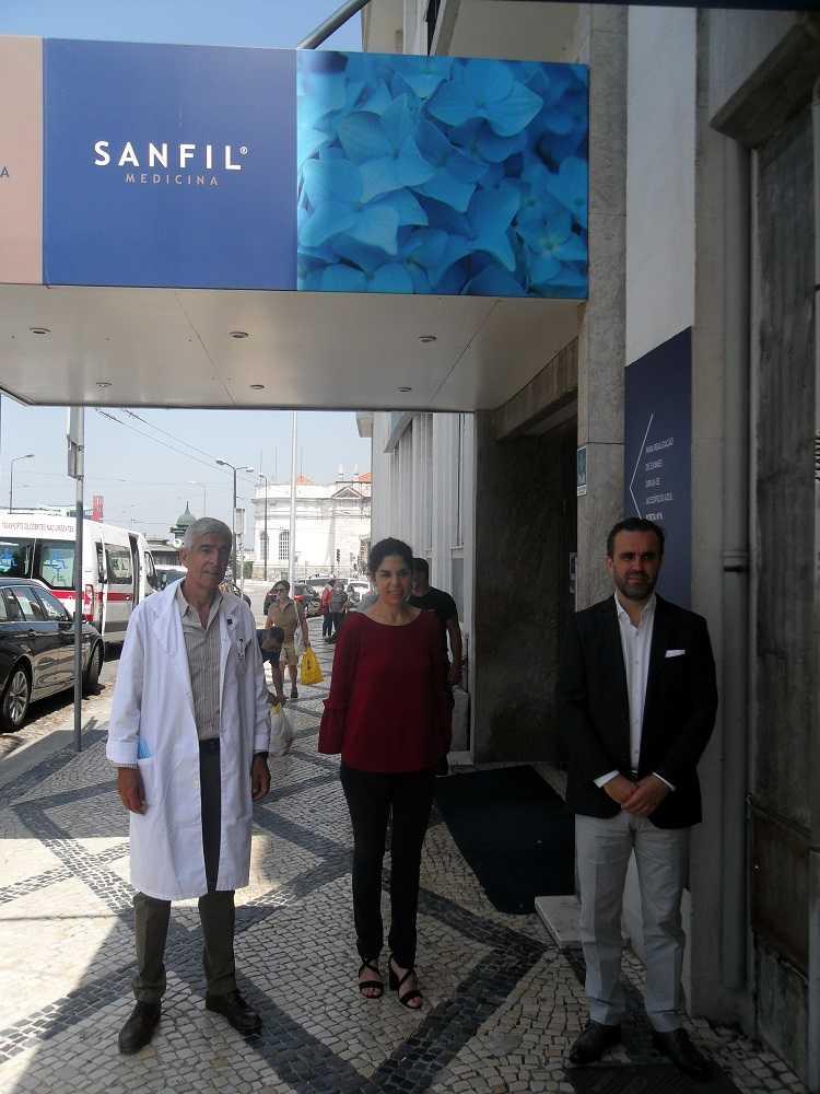 Jornal Campeão: Covid-19: Médicos do Centro assinalam desempenho da Sanfil