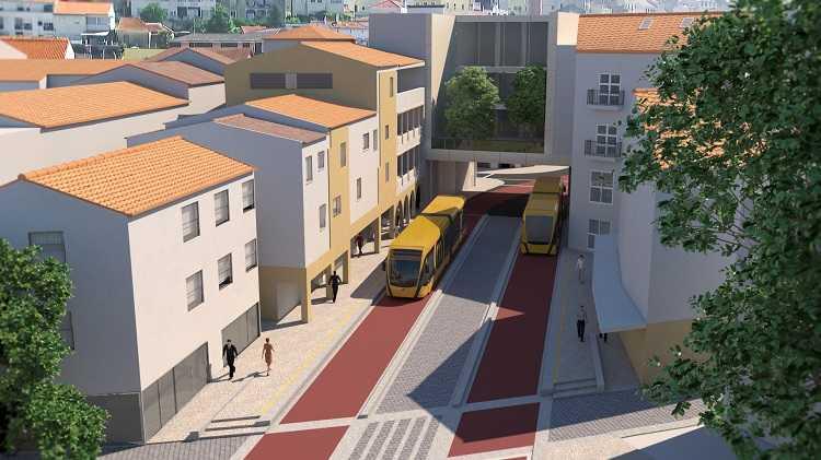 Jornal Campeão: Canal do Metrobus na Baixa de Coimbra adjudicado por mais de 3,2 milhões