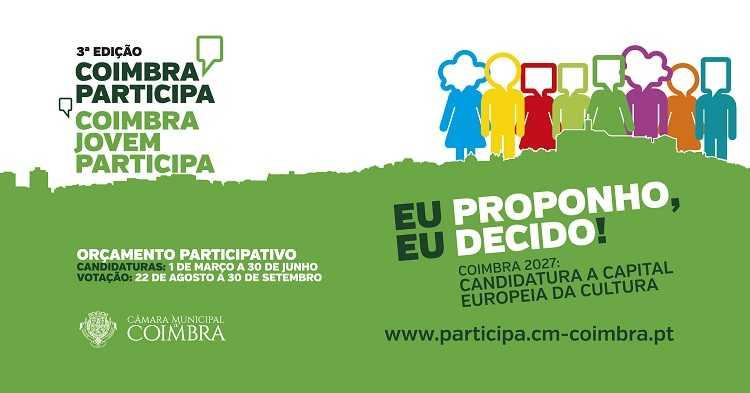 Jornal Campeão: Orçamento Participativo de Coimbra tem 35 candidaturas