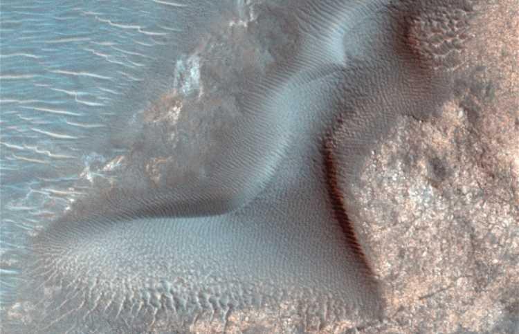 Jornal Campeão: Cientista da UC em equipa que observou ondas de areia gigantes em Marte