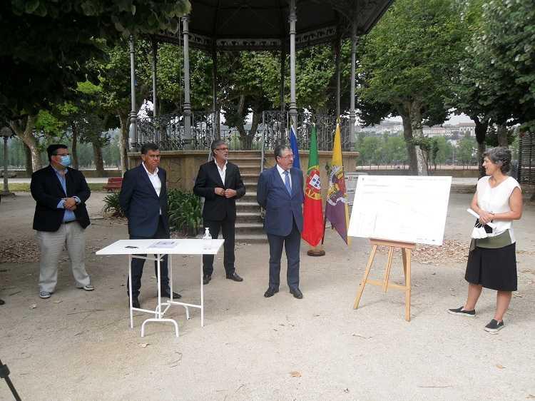 Jornal Campeão: Coimbra: Parque Manuel Braga requalificado com obra de 4,8 milhões de euros