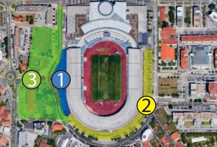 Restrições final Taça - Estádio Cidade de Coimbra