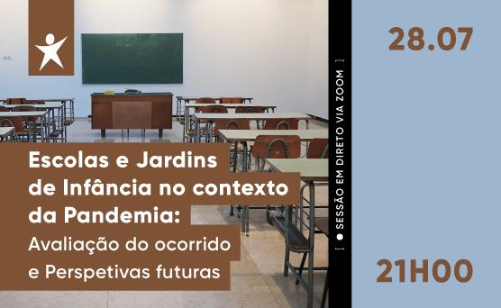 Jornal Campeão: BE promove sessão sobre Escolas e jardins de Infância em pandemia