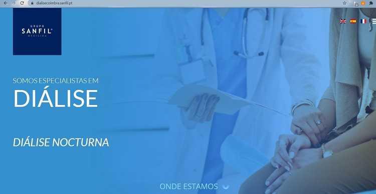 Jornal Campeão: Sanfil lançou website sobre diálise para se aproximar dos doentes