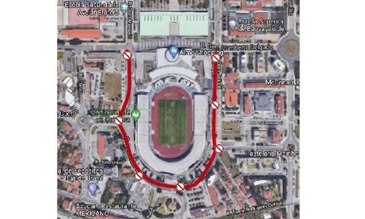 """Jornal Campeão: Final da Taça """"corta"""" circulação à volta do Estádio Cidade de Coimbra"""