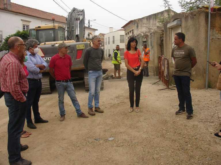 Jornal Campeão: Anadia: Executivo Municipal visita obras de requalificação em Famalicão