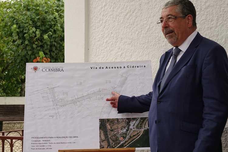 Jornal Campeão: Câmara de Coimbra inicia construção de nova via de acesso à Cidreira