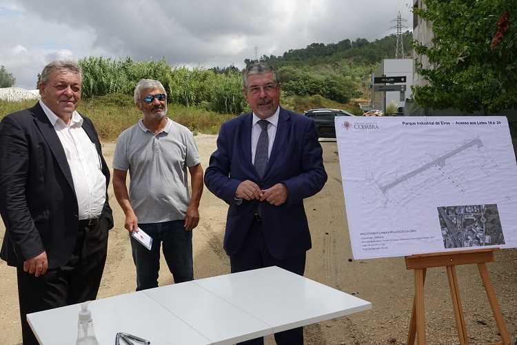 Jornal Campeão: Câmara de Coimbra melhora acessos no parque industrial de Eiras