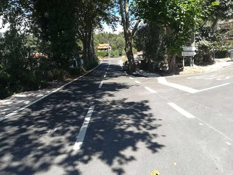 Jornal Campeão: Anadia: Requalificação da estrada entre Boialvo e Algeriz já está concluída