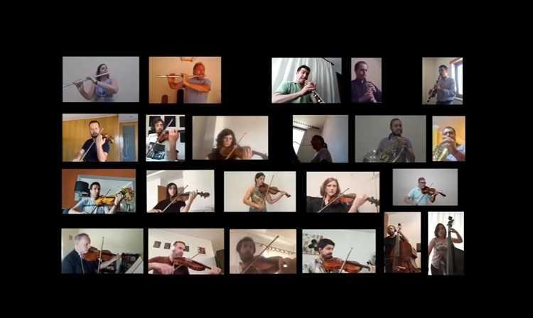 Jornal Campeão: Orquestra Clássica do Centro grava com Orquestra brasileira