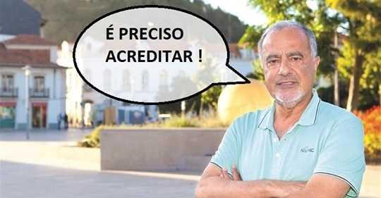 Opinião Cândido Ferreira Acreditar