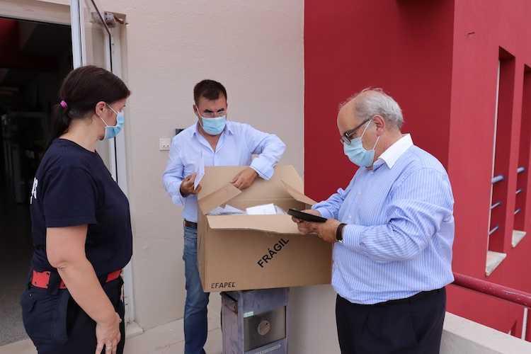 Jornal Campeão: Mealhada ofereceu máscaras à população