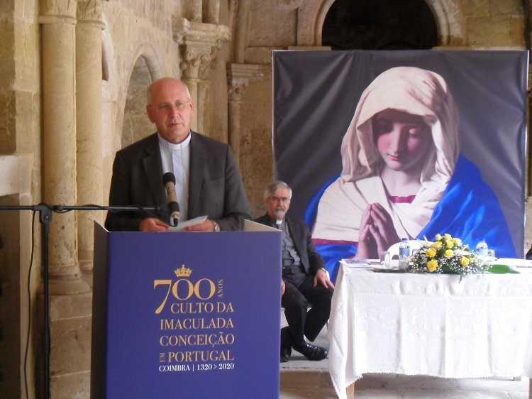 Jornal Campeão: Bispo de Coimbra realça importância dos 700 anos de culto da Imaculada Conceição
