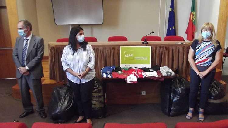 Jornal Campeão: ASAE doa roupa apreendida a instituições de Coimbra