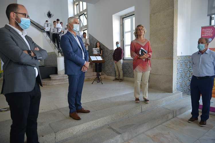 Jornal Campeão: Ministra Ana Abrunhosa inaugurou exposição sobre coesão da União Europeia em Tábua