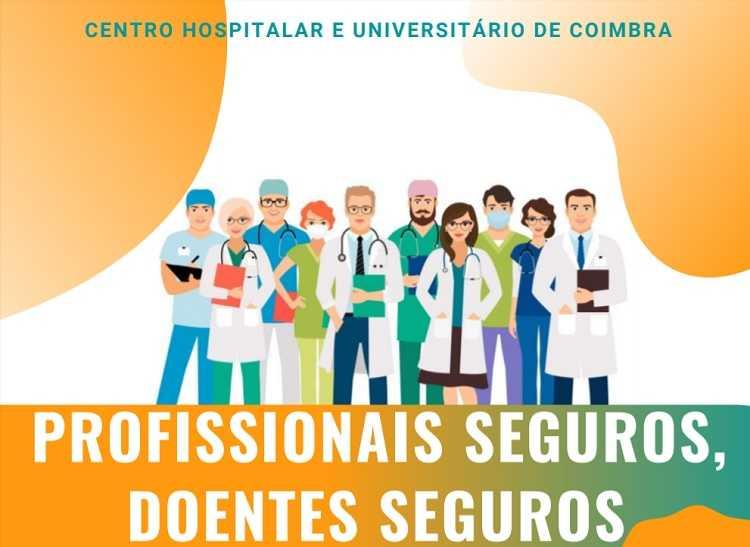 Jornal Campeão: CHUC assinala Dia Mundial da Segurança do Doente com sessão online