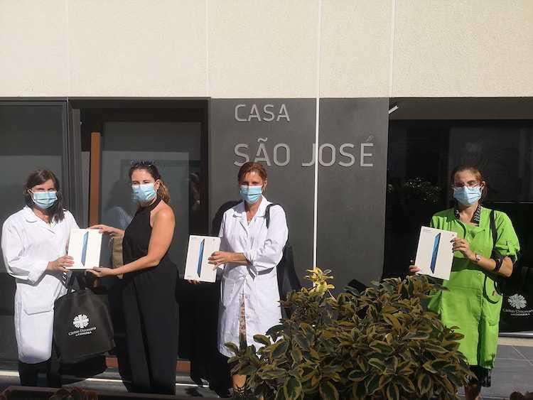 Jornal Campeão: Cáritas de Coimbra instala sistema para combater o isolamento na Casa de S.José