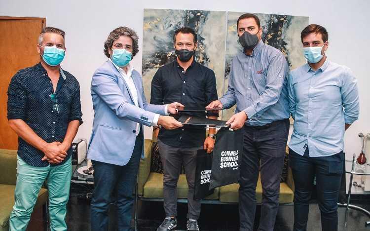 Jornal Campeão: Coimbra Business School assina parceria com o Clube Condeixa e a ANDIF