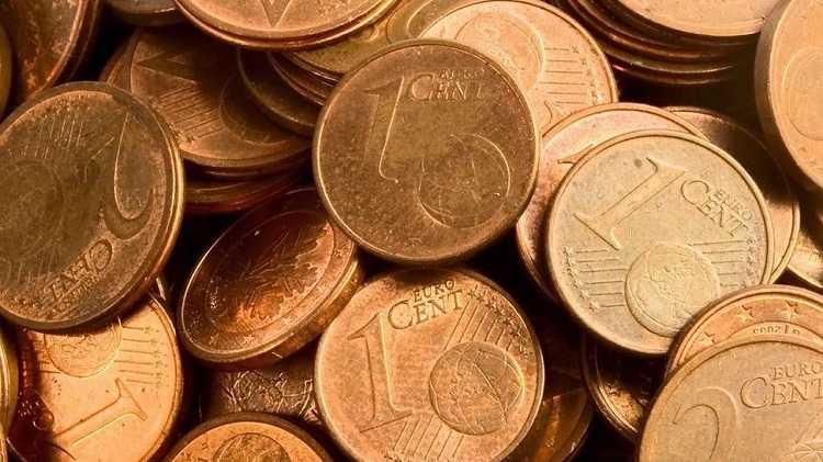 Jornal Campeão: Comissão Europeia avalia descontinuação das moedas de um e dois cêntimos em 2021