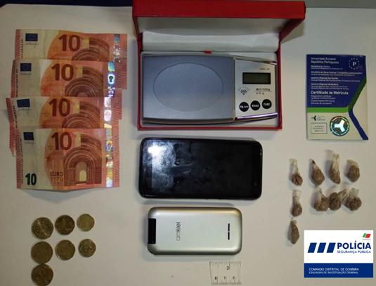 Jornal Campeão: Coimbra: PSP deteve reincidente no tráfico de heroína