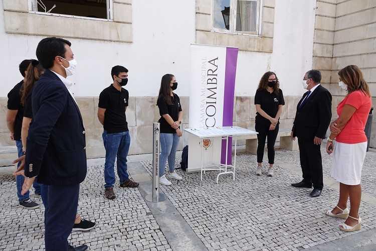 Jornal Campeão: IPC e Câmara de Coimbra promoveram sensibilização de prevenção da covid-19