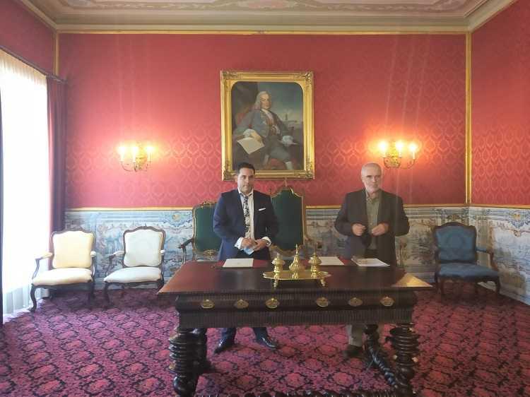 Jornal Campeão: Marefoz da UC e CrystalSalt assinaram protocolo de colaboração