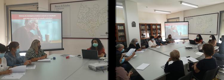 Jornal Campeão: Sistema que ajuda trabalhadores mais velhos foi apresentado na Cáritas de Coimbra