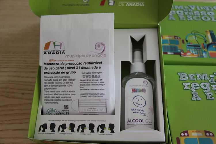 Jornal Campeão: Anadia distribui kit's de protecção individual a alunos do 1.º ciclo e pré-escolar