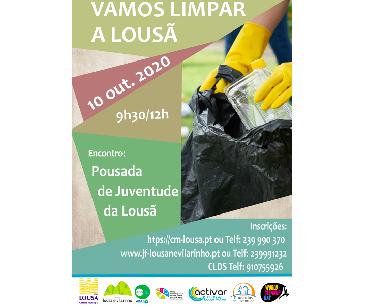 Jornal Campeão: Lousã promove iniciativa para limpar o lixo do concelho