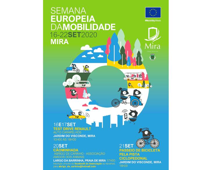 Jornal Campeão: Mira assinala Semana Europeia da Mobilidade com a realização de diversas actividades