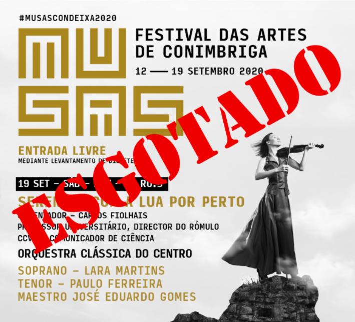"""Jornal Campeão: Concerto de encerramento do festival """"Musas"""" em Conímbriga decorre amanhã"""
