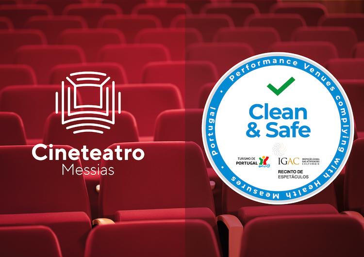 "Jornal Campeão: Cine-Teatro Messias na Mealhada obteve selo ""Clean & Safe"""