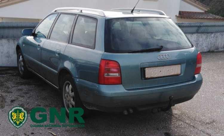 Jornal Campeão: GNR apreende veículo por falsificação de matrícula em Penacova
