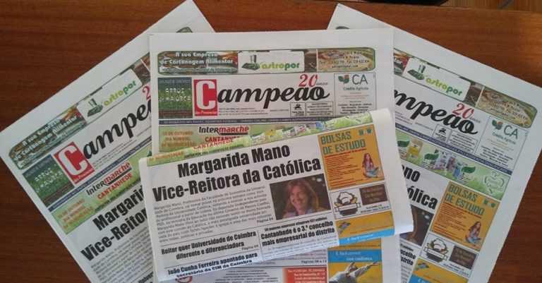 Jornal Campeão: Margarida Mano vai para Vice-Reitora da Católica