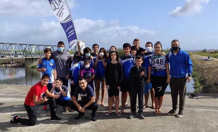 Jornal Campeão: Canoístas do Fluvial de Coimbra vencem em Montemor-o-Velho
