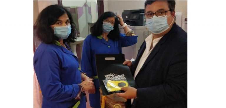 Jornal Campeão: UF de Coimbra distribui máscaras pelos alunos do 1.º Ciclo do Ensino Básico