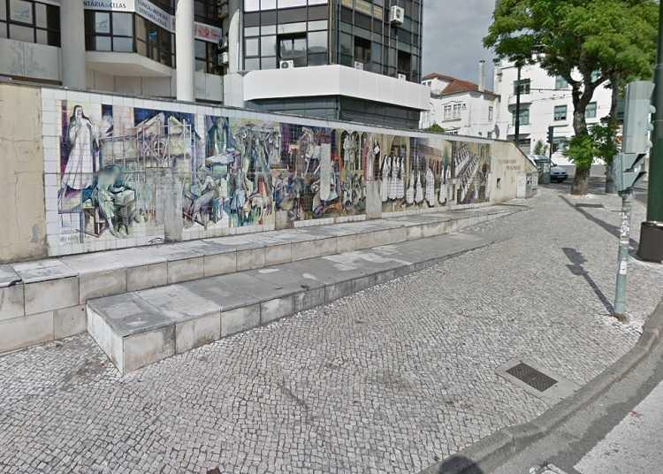 Jornal Campeão: Câmara de Coimbra quer financiar recuperação do mural de Celas de Vasco Berardo
