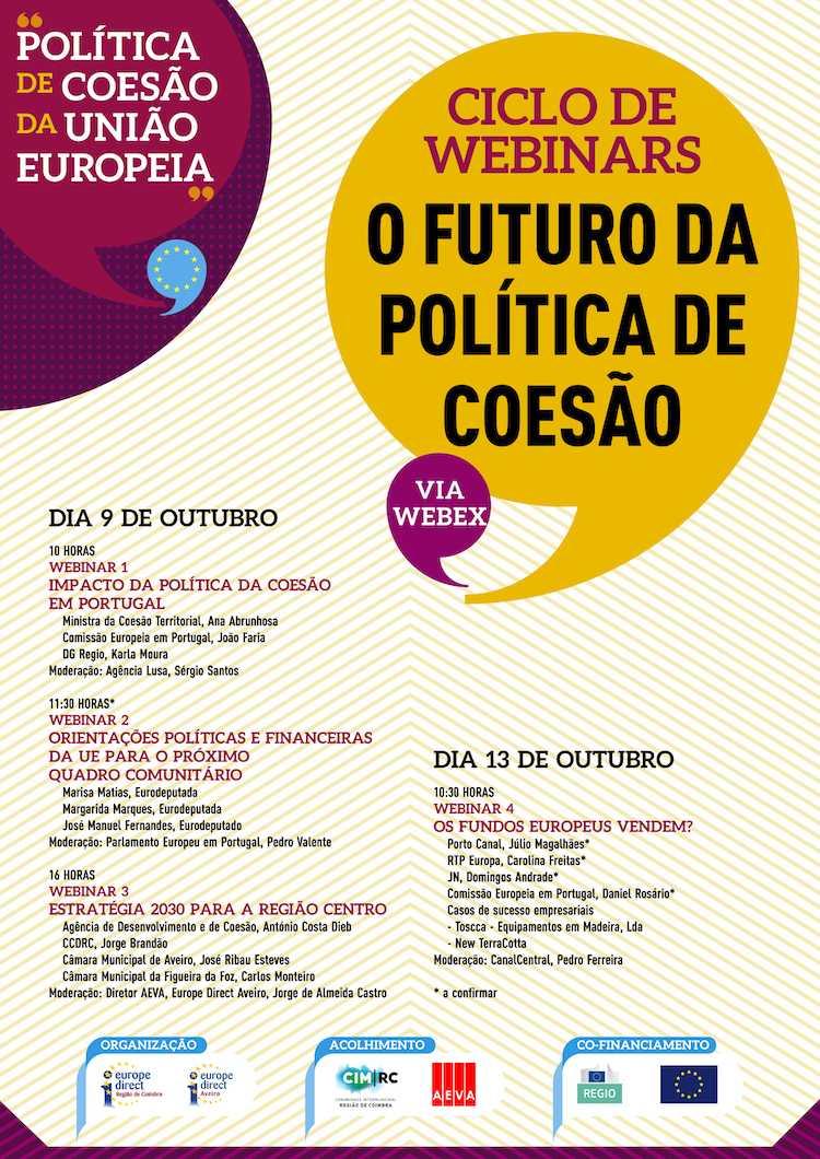"""Jornal Campeão: Ana Abrunhosa participa no ciclo de webinars sobre """"O Futuro da Política de Coesão"""""""
