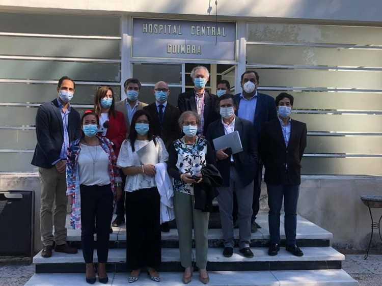 Jornal Campeão: Distrital do PS visita Covões na defesa pelos melhores cuidados de saúde em Coimbra