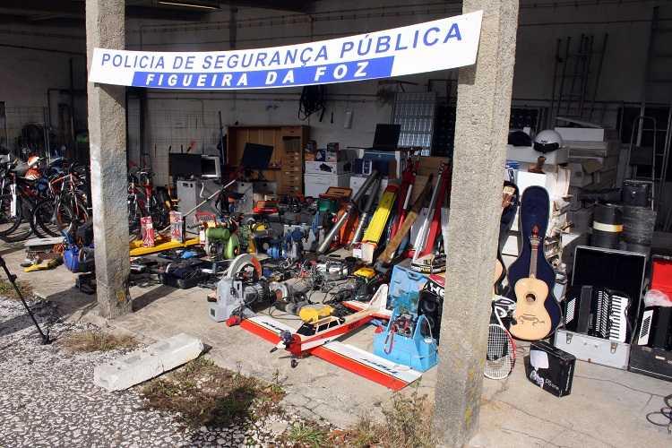 Jornal Campeão: PSP da Figueira da Foz fez maior apreensão de sempre de material furtado