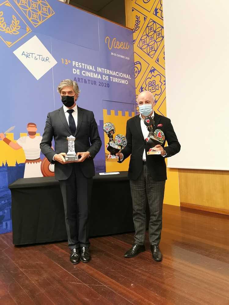 Jornal Campeão: Filme do Turismo do Centro vence Grande Prémio do Festival Art&Tur