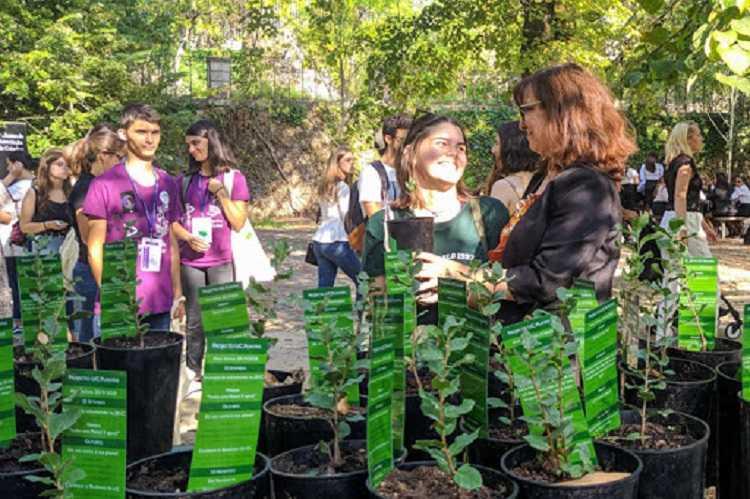 Jornal Campeão: UC desafia novos estudantes a adoptarem uma planta