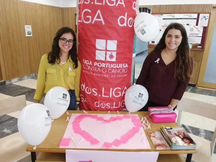 Jornal Campeão: Escola Superior de Enfermagem de Coimbra é sensibilizada para o cancro da mama