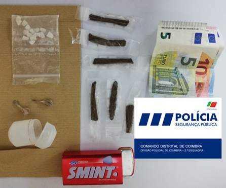 Jornal Campeão: PSP de Coimbra deteve dois homens por tráfico de droga